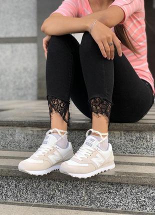 Прекрасные кроссовки new balance из мягкой замши (весна-лето-осень)😍7 фото