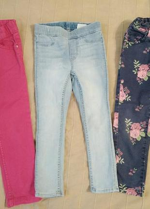 Летние джинсы blukids, h&m, все за 120гр