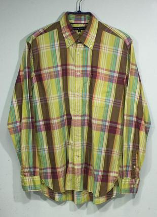 Рубашка мужская tommy hilfiger размер m состояние отличное1 фото