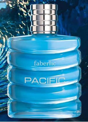 Туалетная вода для мужчин pacific пасифик фаберлик faberlic 3248
