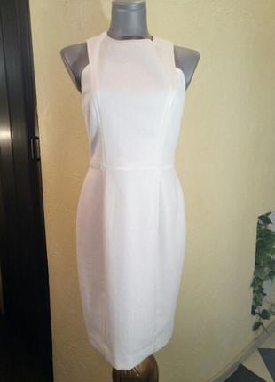 Очень красивое нежное платье-футляр《паутинка》