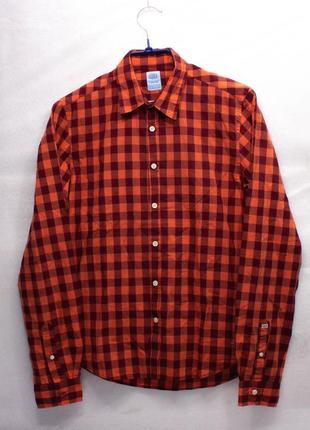 Рубашка мужская  scotch & soda размер s состояние отличное