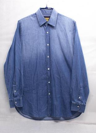 Рубашка мужская broadbents boothroyds размер m состояние отличное