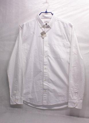 Рубашка мужская новая next размер l  состояние отличное, есть микро но
