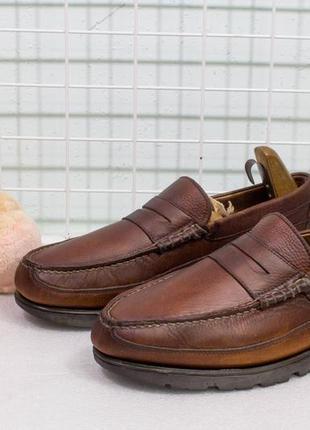 Туфли мужские кожаные marks&spencer размер 45-46 стелька 29.5 см