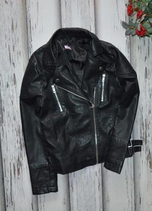 12-13 лет куртка кожанка косуха f&f