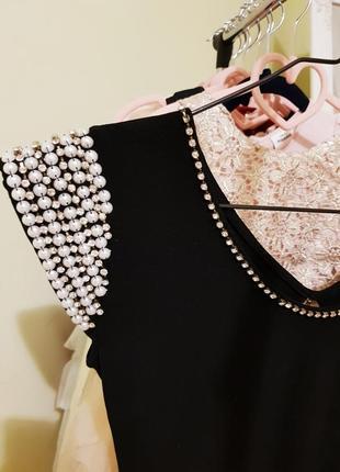 Платье для выпускного, коктейльное платье, маленькое черное платье, нарядное платье