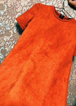 Шикарное платье из выворотки от zara
