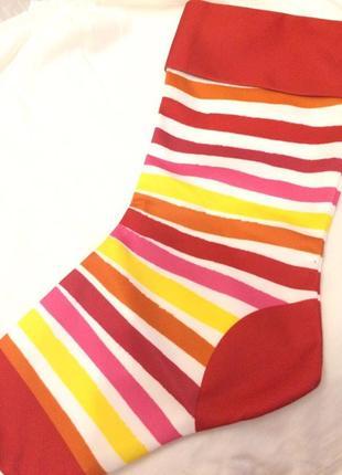 Новорічний носочок для маленьких подарунків bella j,