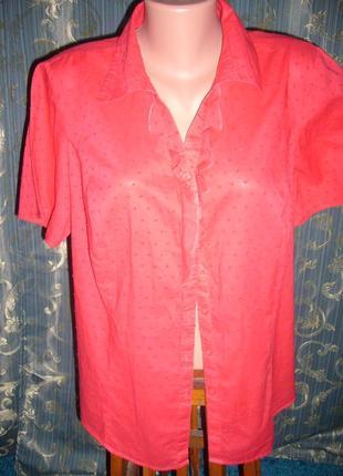 Блуза женская батист хлопок