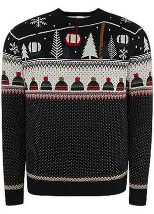 b87b7d8c64a09 Новогодние мужские свитера 2019 - купить недорого мужские вещи в ...