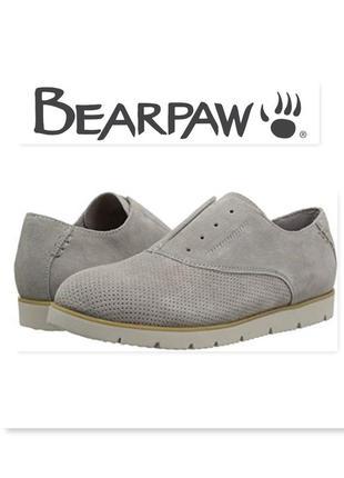 Bearpaw туфли слипоны замшевые оригинал из сша