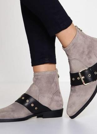 Ботинки кожаные tommy hilfiger / шкіряні черевики