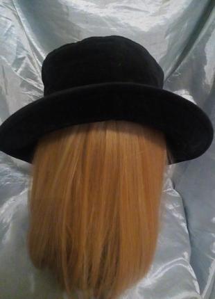 Женская велюровая шляпа. б/у.