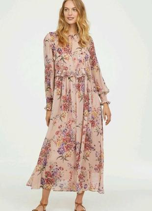 Невероятно красивое, шифоновое платье. h&m10 фото