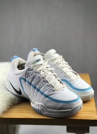 Кроссовки белые nike zoom air винтажные
