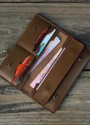 Стильный кожаный кошелёк