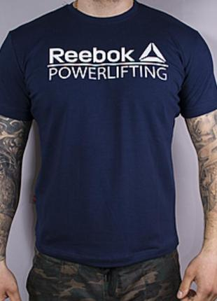 Футболка мужская powerlifting reebok training