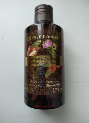 Новинка! гель для душа аргания- роза 200 мл yves rocher