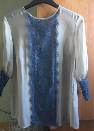Шикарна офісна блуза