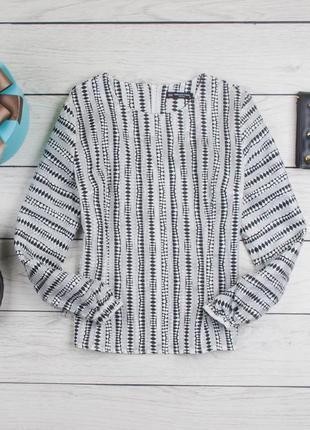 Фактурная блуза из органзы от collection london  рр 16 наш 50