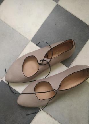 Туфли из мягчайшей кожи от viola fonti италия2 фото