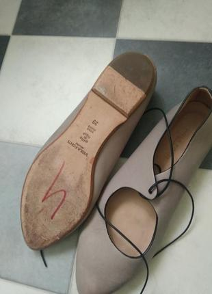Туфли из мягчайшей кожи от viola fonti италия5 фото