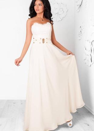 Свадеброе платье выпускное
