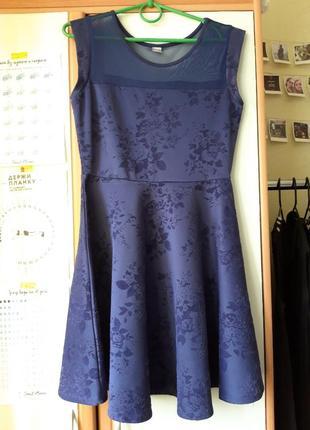 Платье с сеткой2 фото