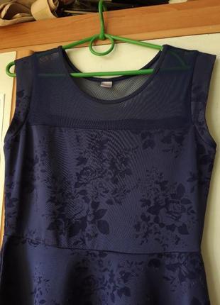 Платье с сеткой3 фото