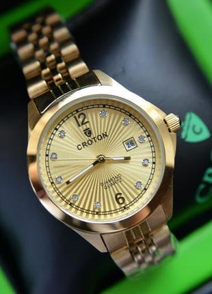 Цена дня! женские часы с бриллиантами croton