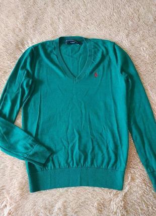 Шерстяной свитер джемпер от ralph lauren