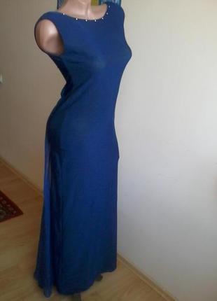 Платье в пол на выпускной 42-44р