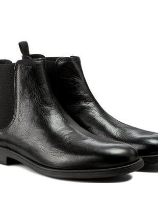 Кожаные ботинки челси geox 42.5
