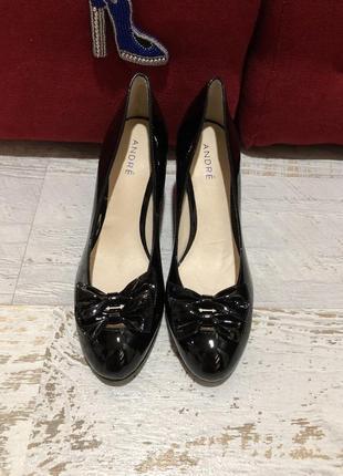 Кожаные натуральные туфли 37рр1 фото
