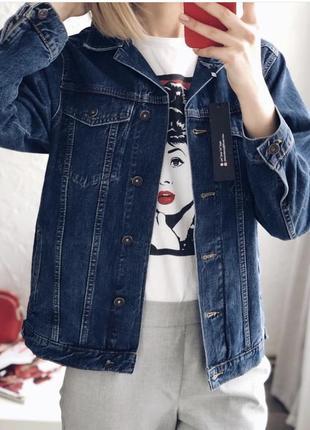 Класична джинсова рубашка