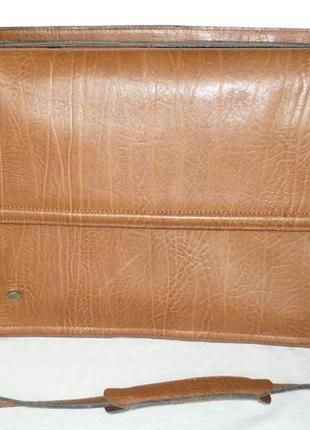 Three bags натуральная кожа сумка портфель папка ручка на плечо планшет документы