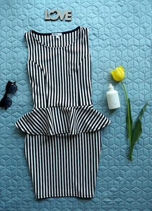 Сукня з баскою. платье с баской.