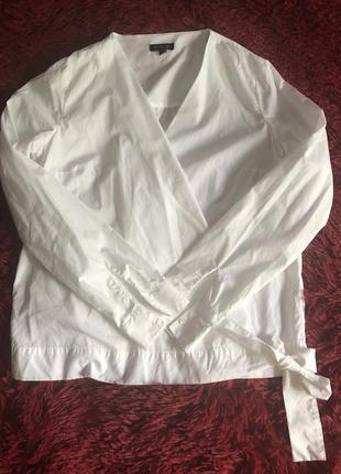 Рубашка на запах massimo dutti3 фото