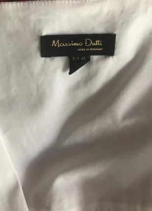Рубашка на запах massimo dutti2 фото