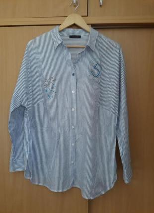 Стильная красивая сорочка рубашка блузка tuzzi. оригинал