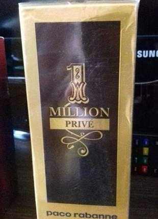 Paco rabanne 1 million prive for men 100 ml.