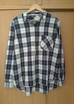 Стильная сорочка рубашка блузка zara. оригинал
