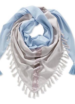 Стильный шарф в пастельных тонах от tchibo (германия)