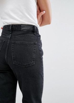 b4e548bc4ed Винтажные mom джинсы с высокой посадкой