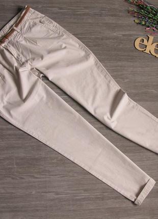 Легкие коттоновые брюки promod размер eur 42-44