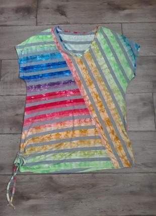 Стильная оригинальная футболка anna aura. оригинал