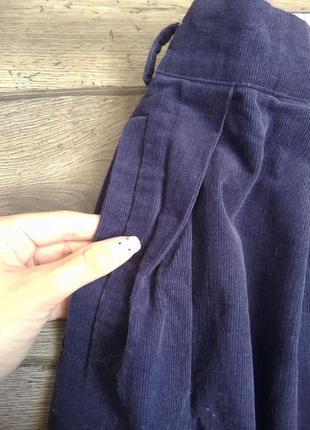 Стильная вельветовая  юбка на запах noa noa aps. оригинал