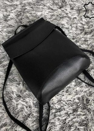 Кожаный рюкзак5 фото