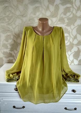 F&f блузка с бисером на рукавах